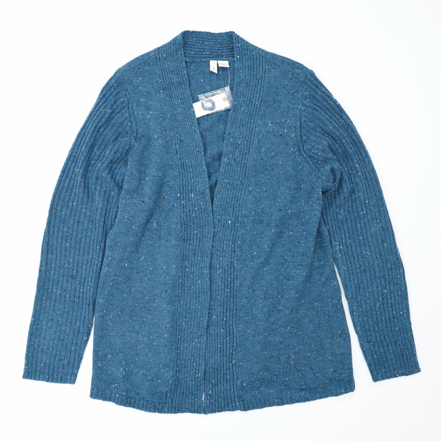 Blue Speckled Cardigan Size M