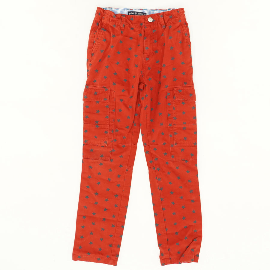Star Cargo Pants - Size 11Y