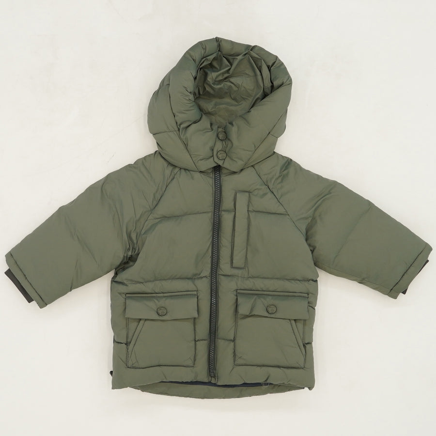 Hooded Down Jacket - Size 9-12M