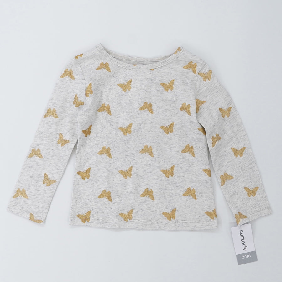 Butterfly Long Sleeve Size 24M