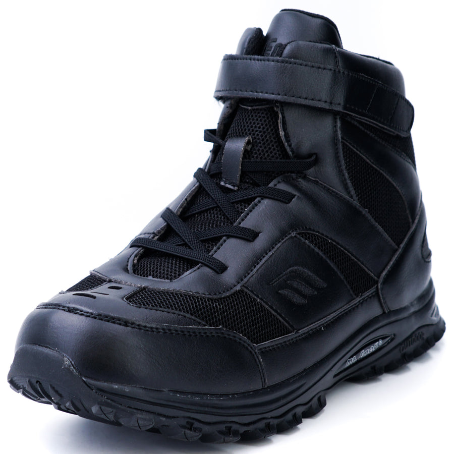Orthopedic High Top Black Shoes Size 9.5Y