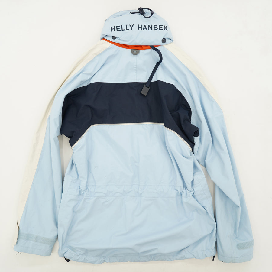 Hooded Zip-Up Windbreaker Size XS