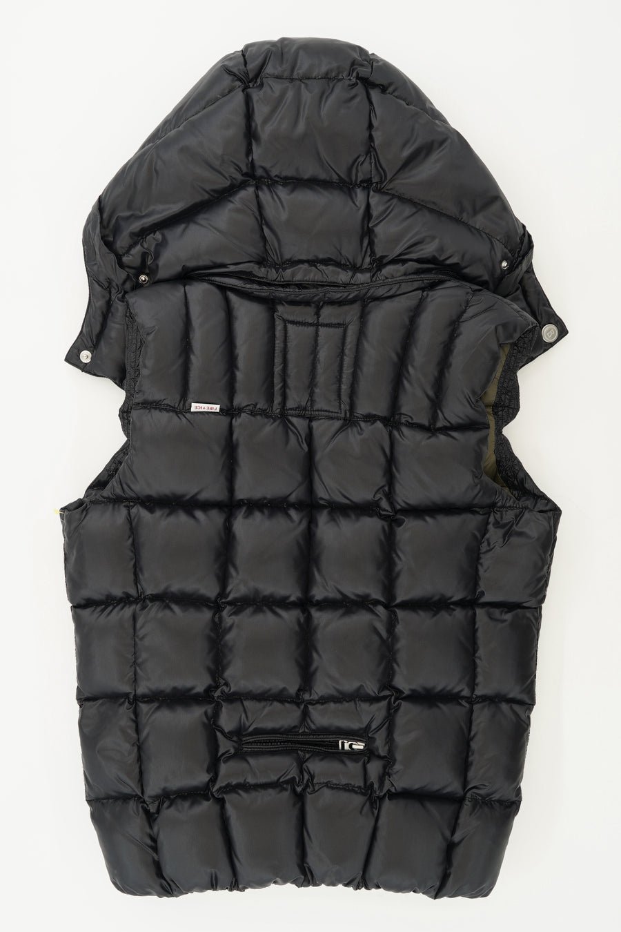 Hooded Puffer Vest Size 4