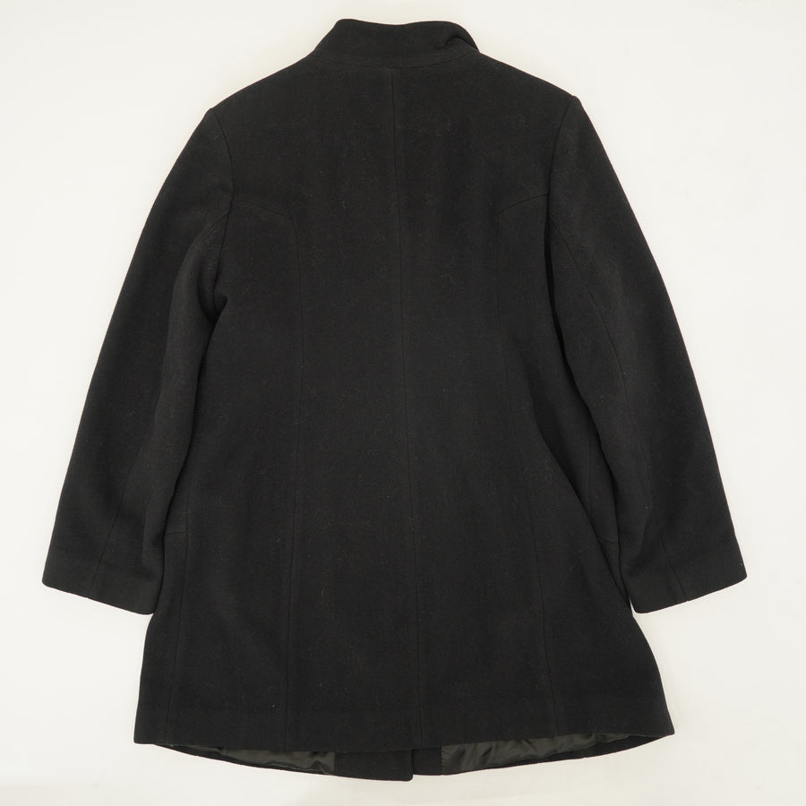 Single Breasted Peacoat - Size XL
