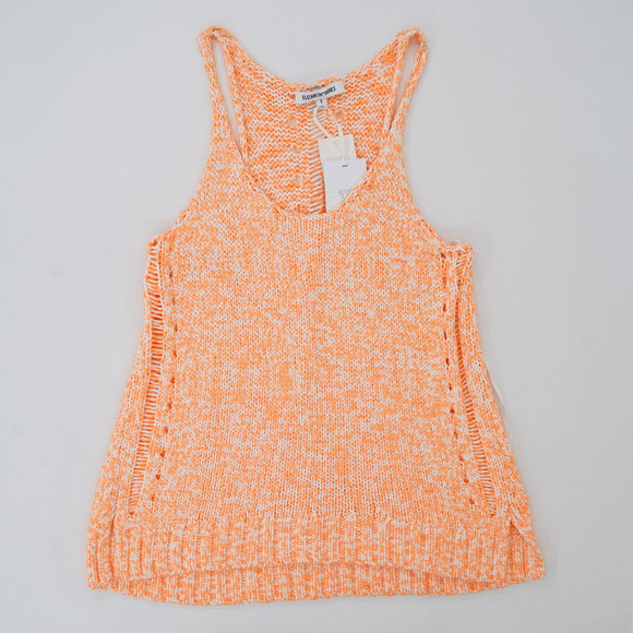 Orange Drop Stitch Tank Size S