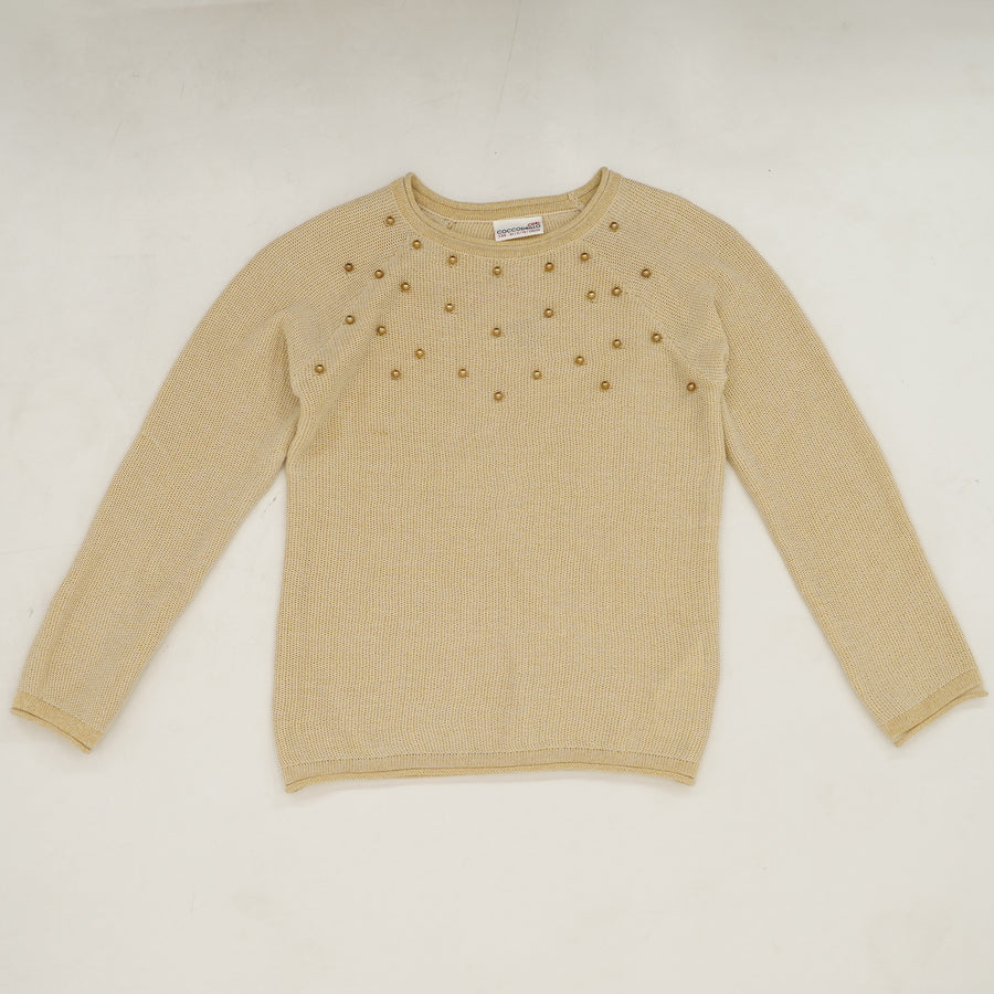 Beaded Sweater Size 9