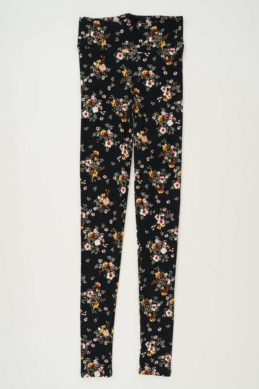Planet Gold Floral Printed Legging Size XS