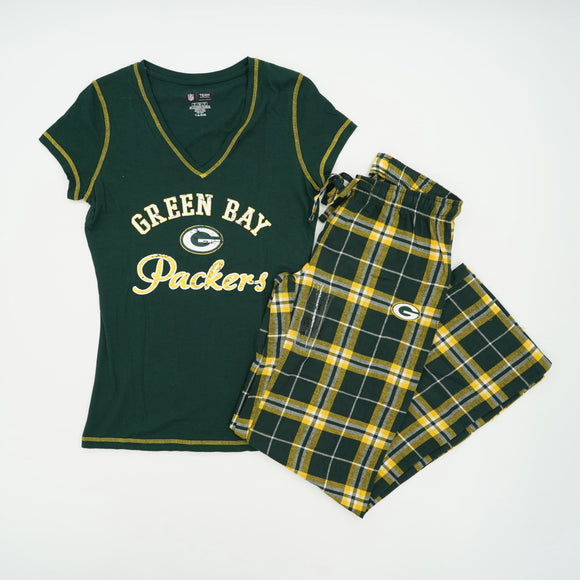 Green Bay Packers 2 piece Pajama Set Size S