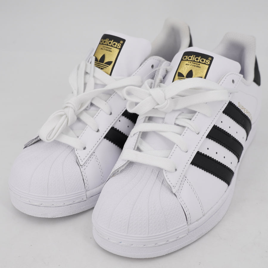 Black & White Superstar Sneakers Size 6.5