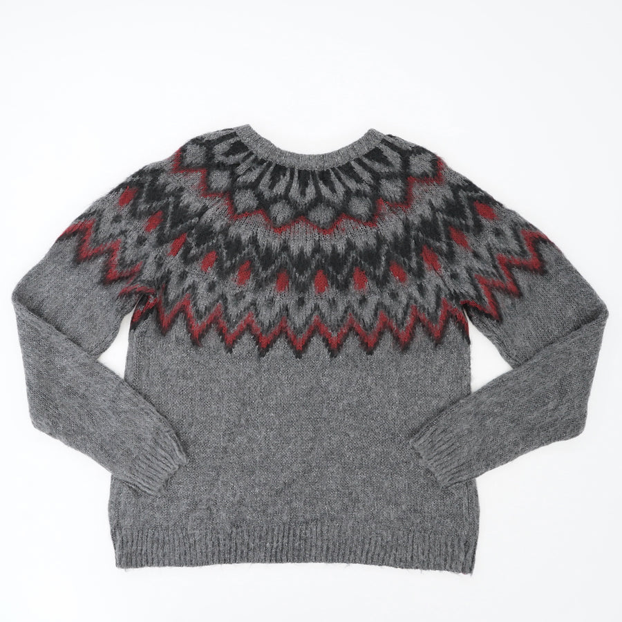 Patterned Knitted Sweater Size M, L