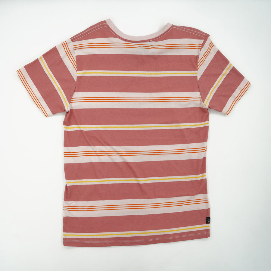 Striped Short Sleeve T-Shirt Size XL