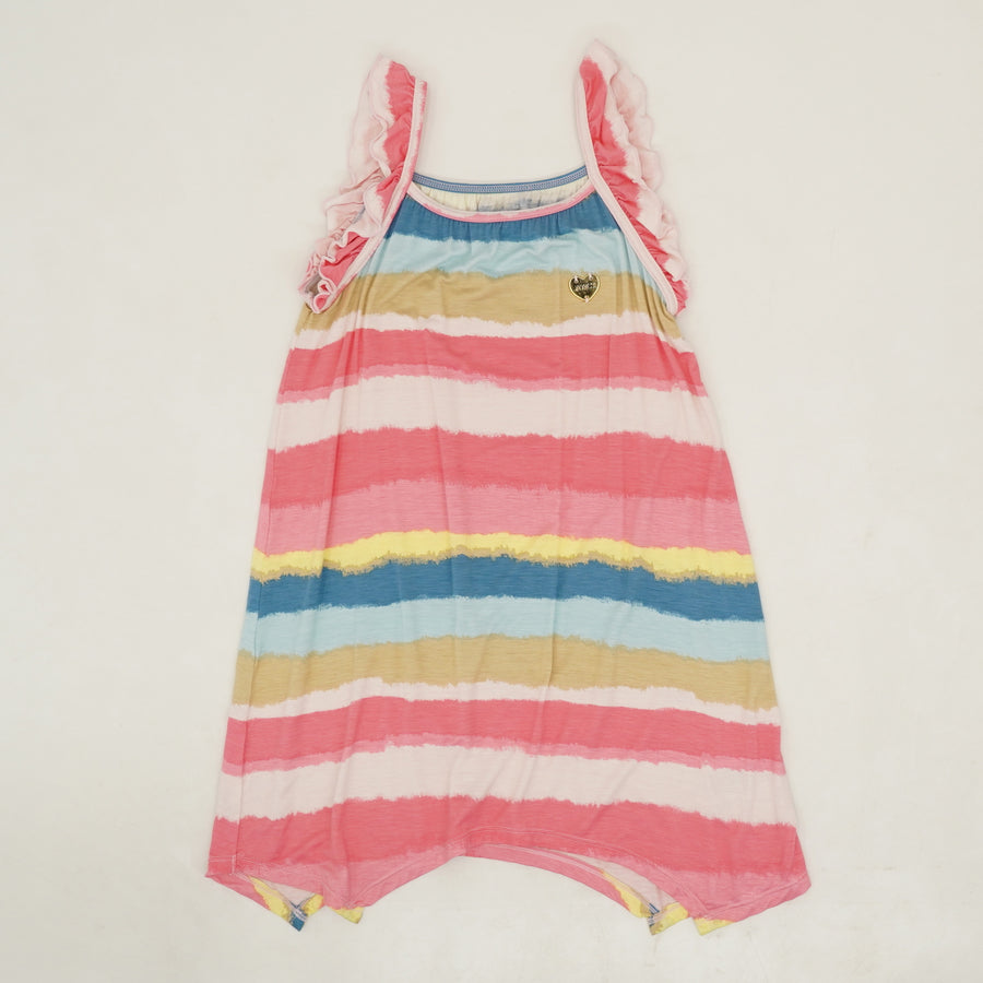 Striped Handkerchief Dress Size 7, 8/10