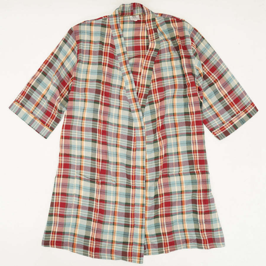 Plaid Robe Size XL