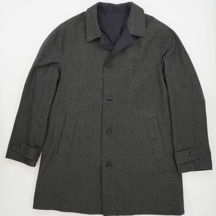 Single Breasted Reversible Coat Size 56R