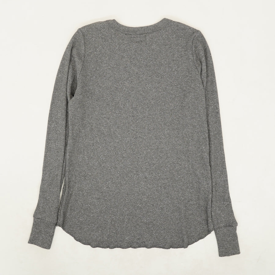 Gray Sparkle Sweater - Size L