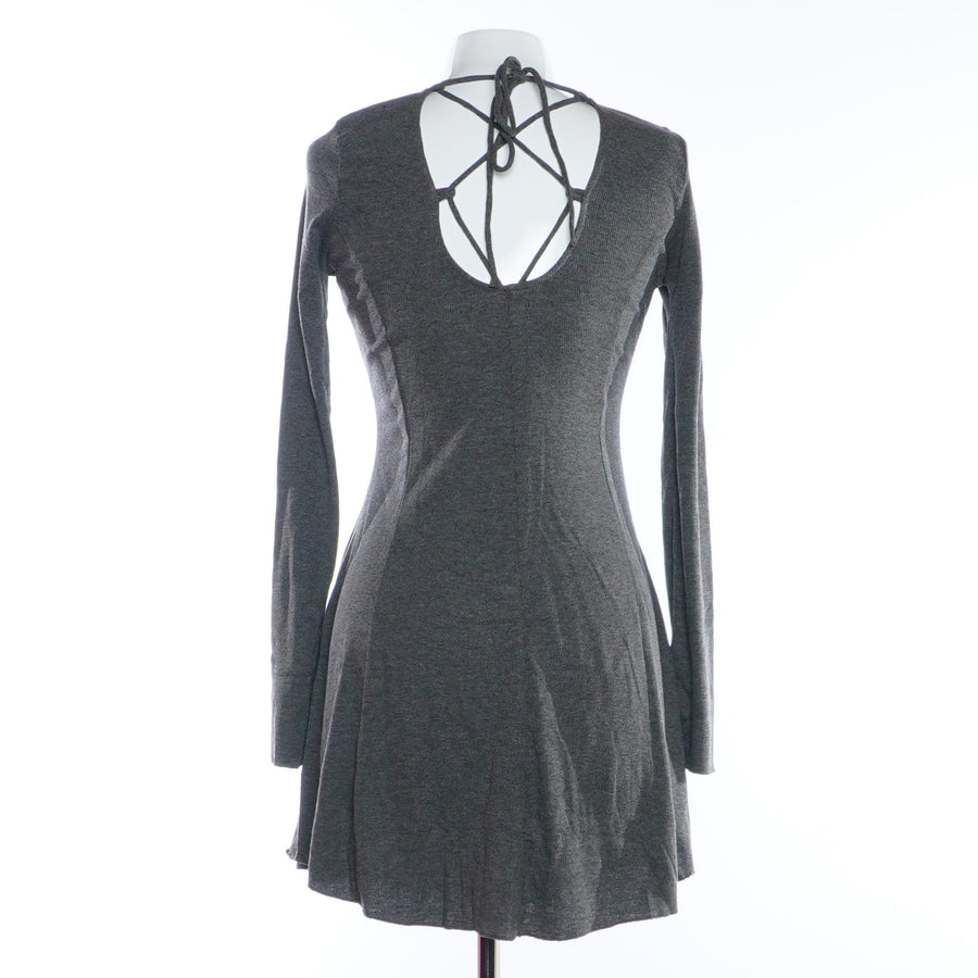 Ribbed Long Sleeve Dress Size S