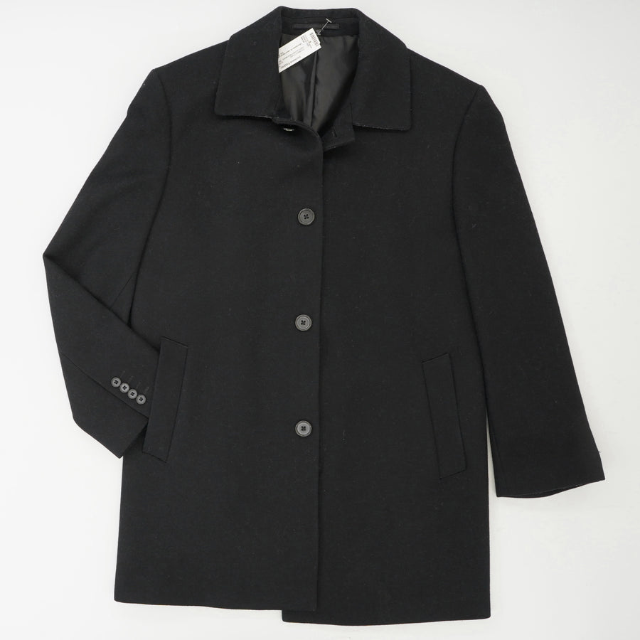 Classic Fit Wool Blend Pilot Coat with Notch Collar Size 38S