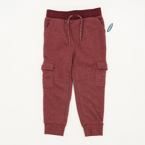 Red Cargo Joggers Size 3