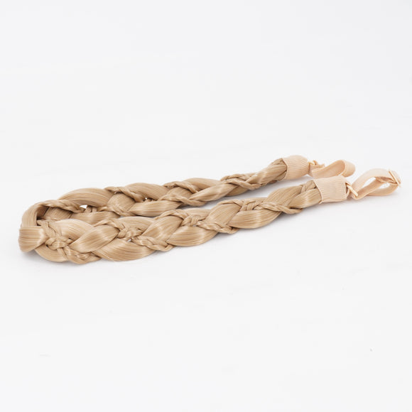 Braid In Braid Headband Blond