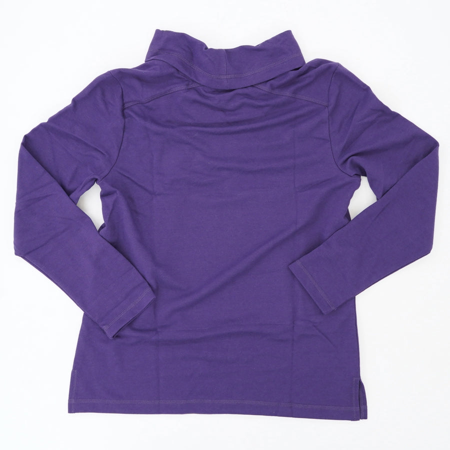 Mock Neck Sweatshirt Size S