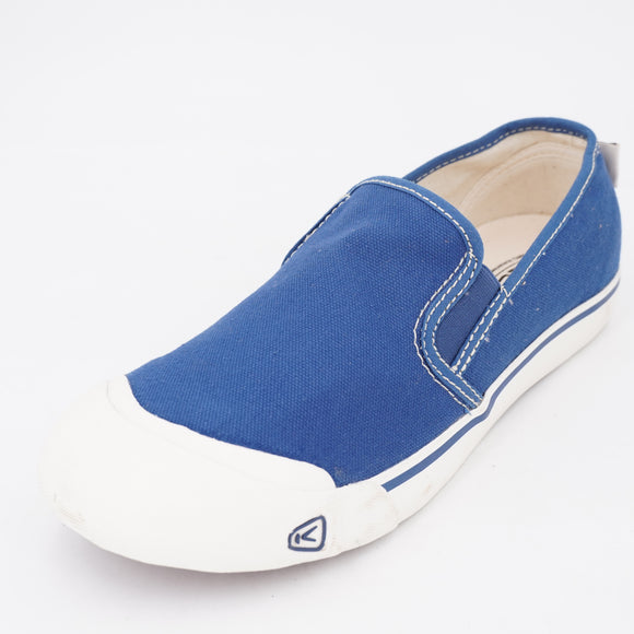 Coronado III Canvas Slip-On Sneakers Size 9 Blue