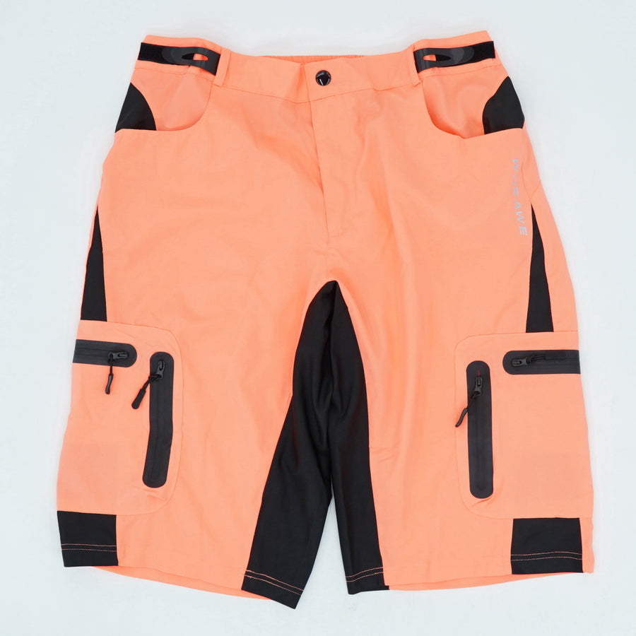 Neon Mountain Bike Riding Shorts - Size XL