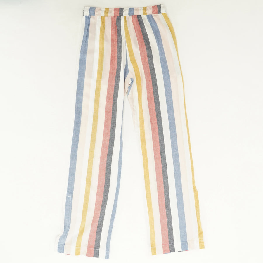 Striped Wide Leg Pants - Size S