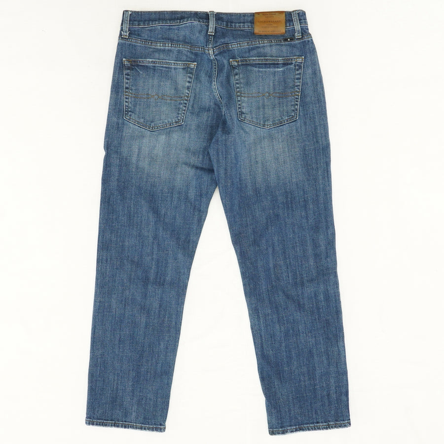 221 Straight Dark Wash Jeans - Size 34Wx30L