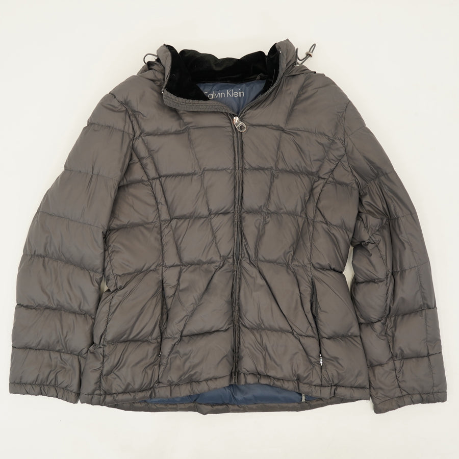 Packable Hooded Puffer Jacket Size XL