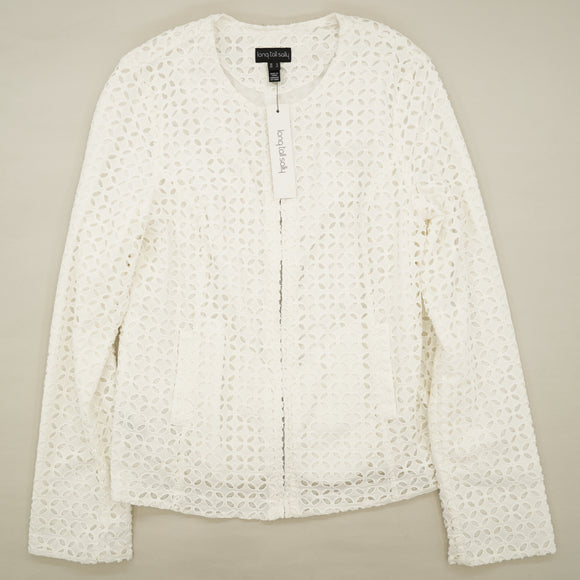 Broiderie Lace Jacket Size 8