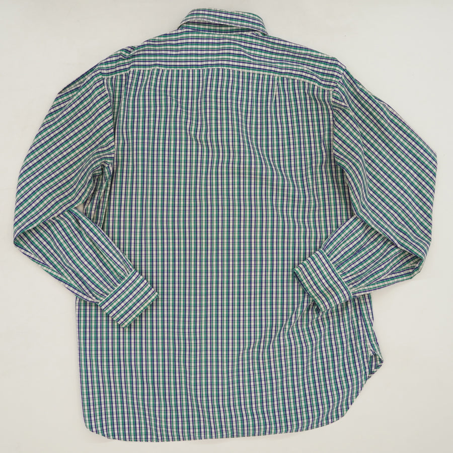 Plaid Button Down Size M/L