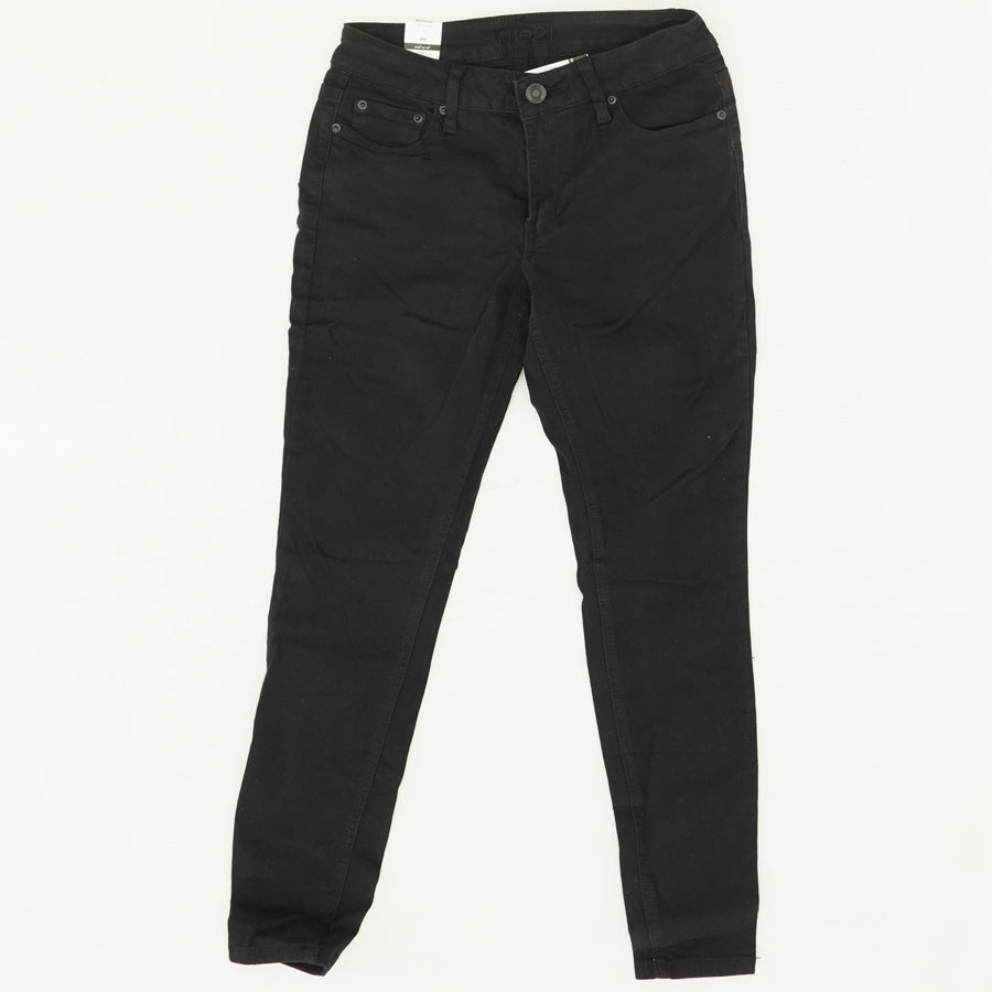 Black Mid Rise Jeggings - Size 8R