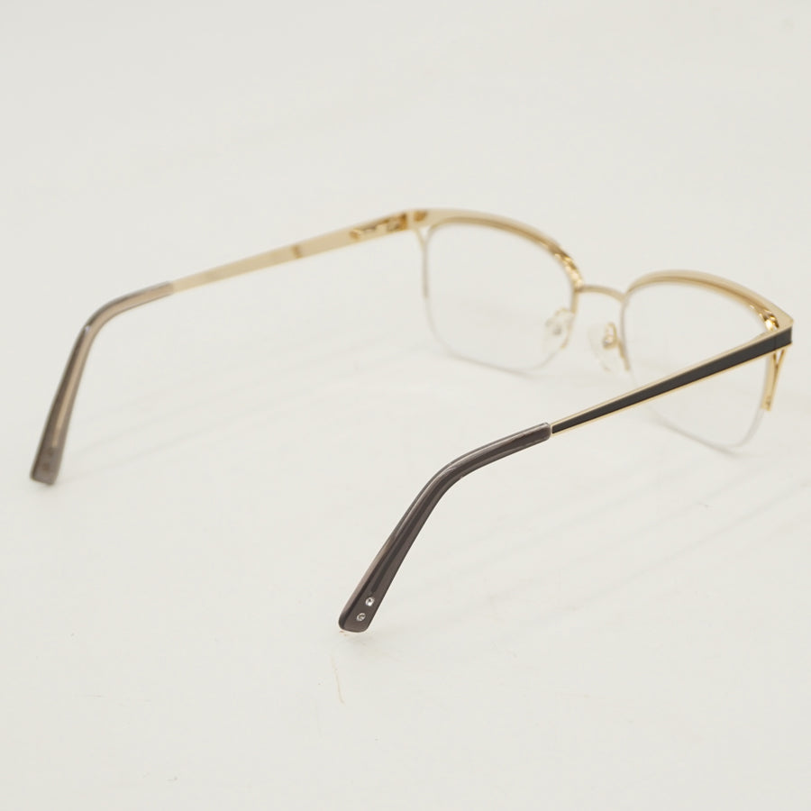 Gold Detailed Prescription Eyeglasses