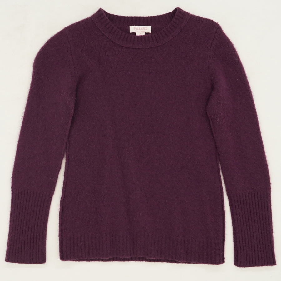 Purple Pullover Sweater Size M