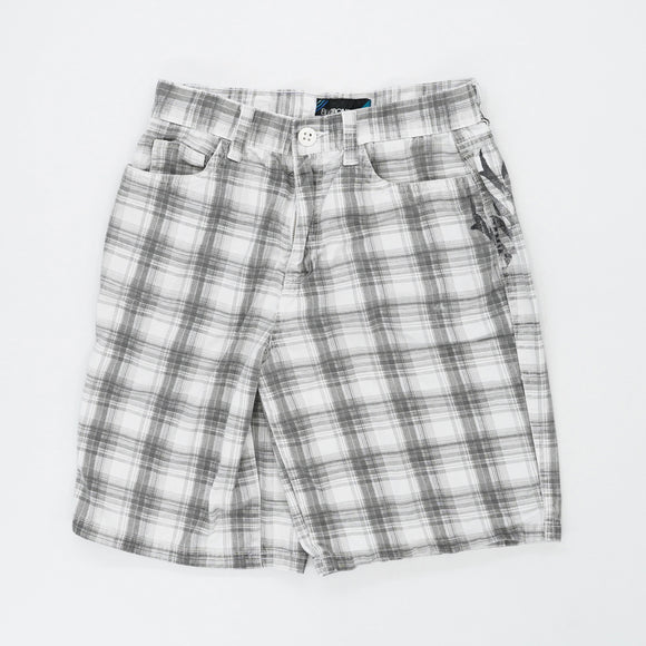 Plaid Graphic Pocket Shorts Size 30W 11L