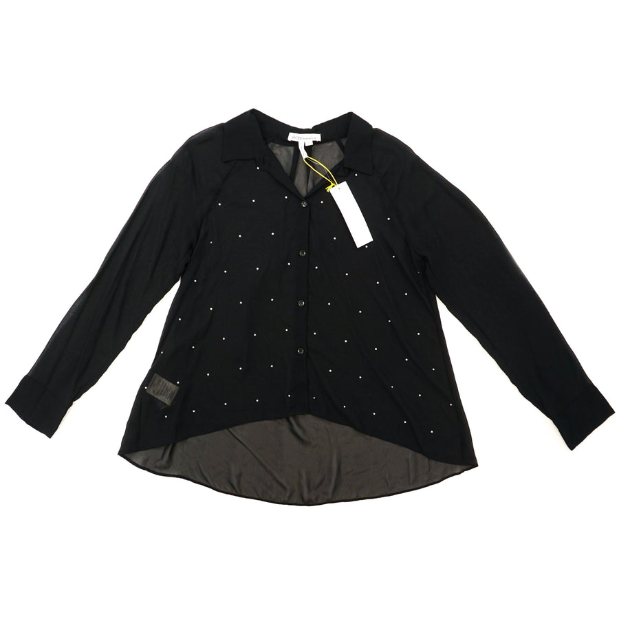 Women's Blouse Black Size M