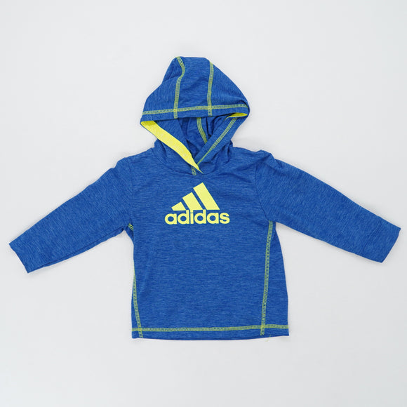 Blue and Yellow Hoodie Size 18M