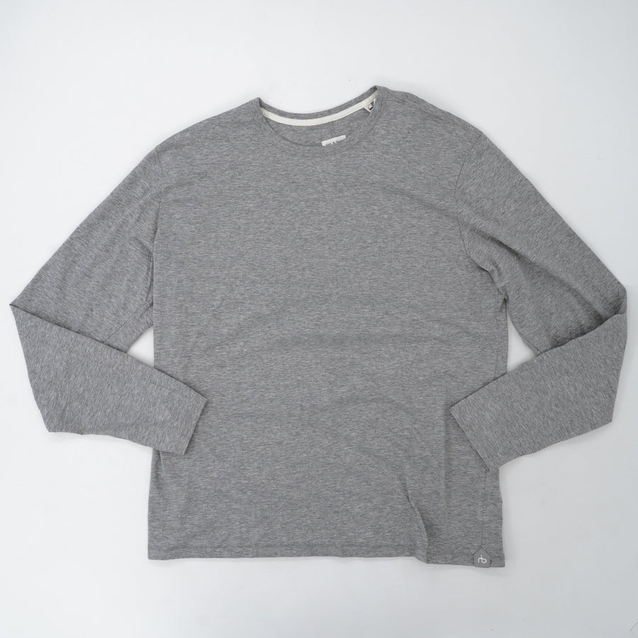 Classic Round Neck Long Sleeve Tee-Shirt  Size XL