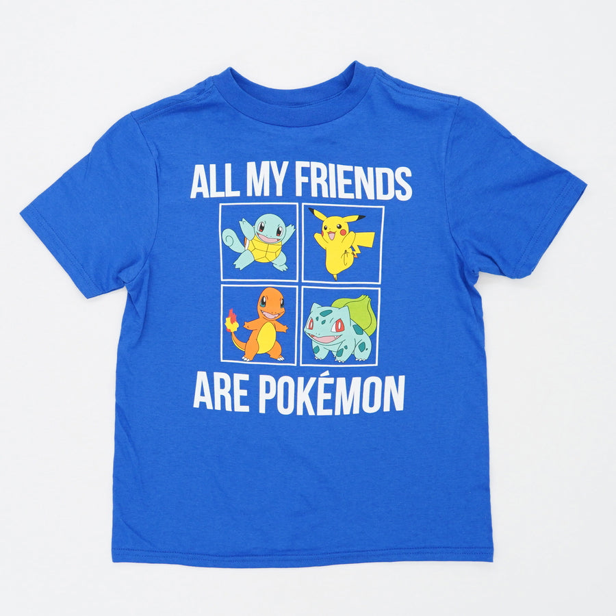 All My Friends Are Pokemon Tee