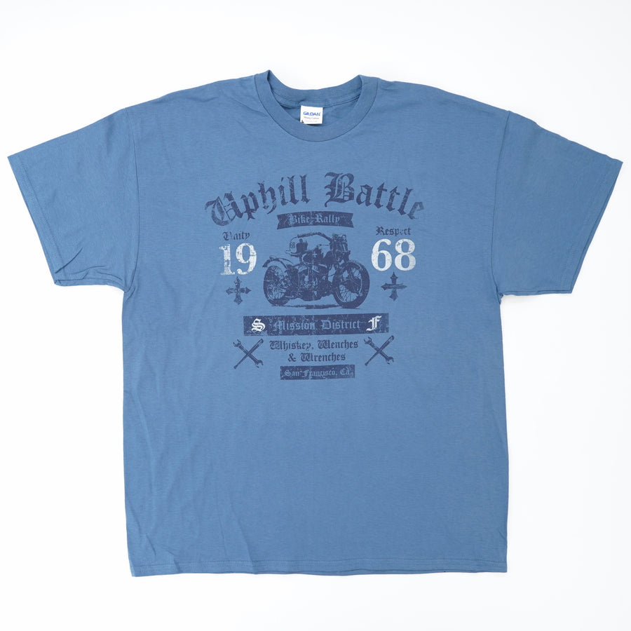 Uphill Battle Bike Rally Graphic Tee