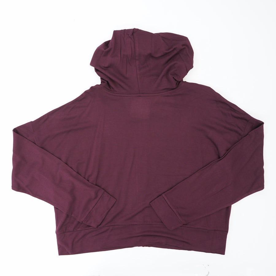Long Sleeve Zip-Up Hooded Jacket