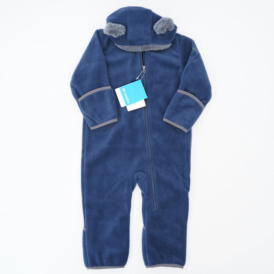 Tiny Bear Bunting Ski One Piece - Size 18-24M