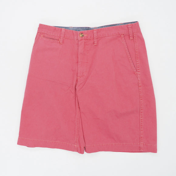 Plain Polo Shorts Size 33W 10L