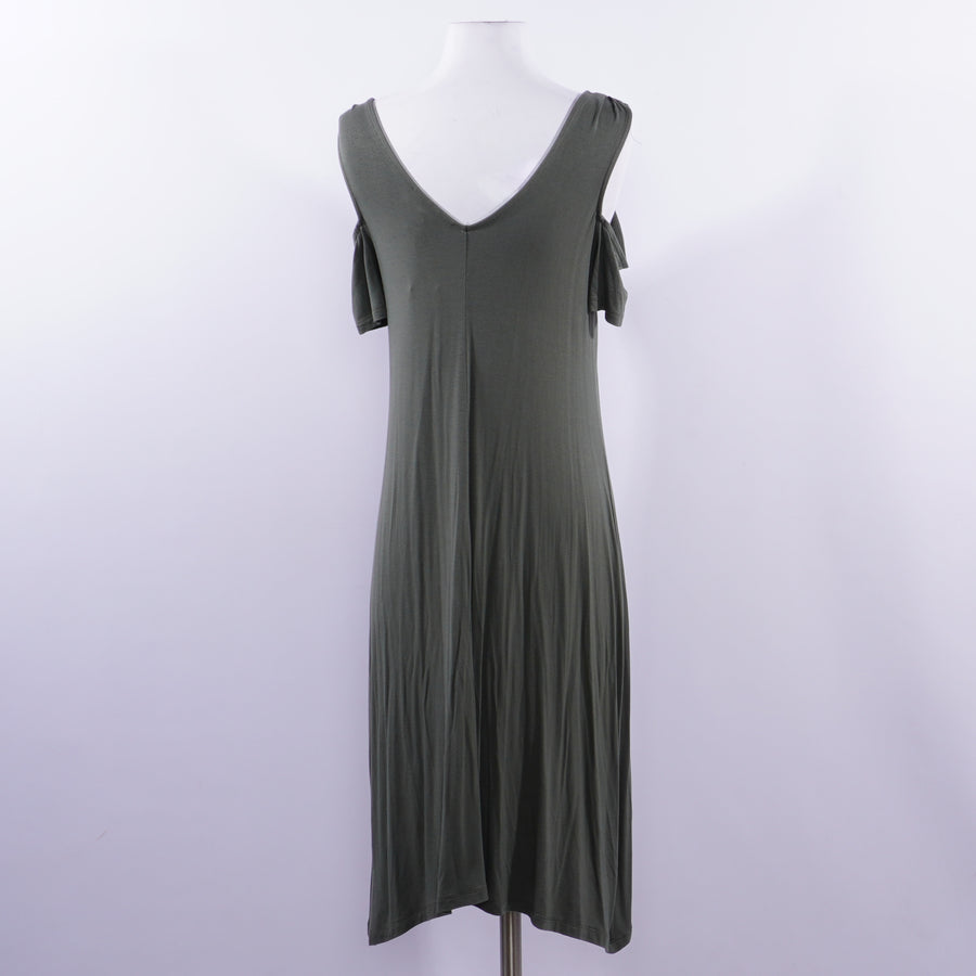 Cold Shoulder Maternity Dress - Size S