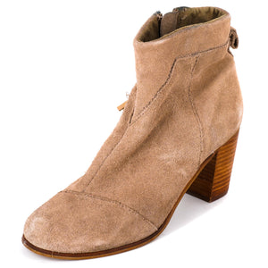 Lunata Suede Booties Size 6
