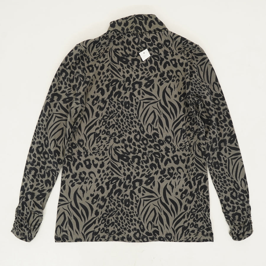 Animal Print Turtleneck Size M
