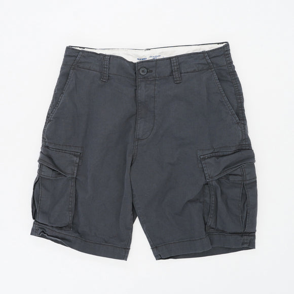 Charcoal Gray Cargo Shorts Size 31W 10L