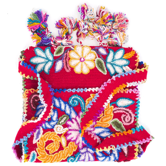 Embroidered Handmade Crossbody Bag