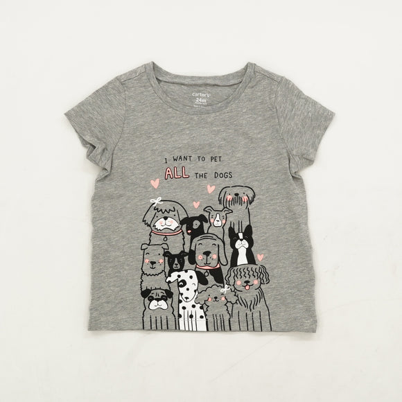 Dogs T-Shirt Size 24 Months