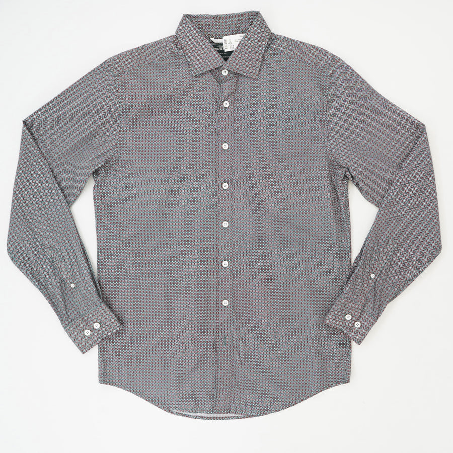 Donnelly Track Long Sleeve Sport Fit Button Down Shirt